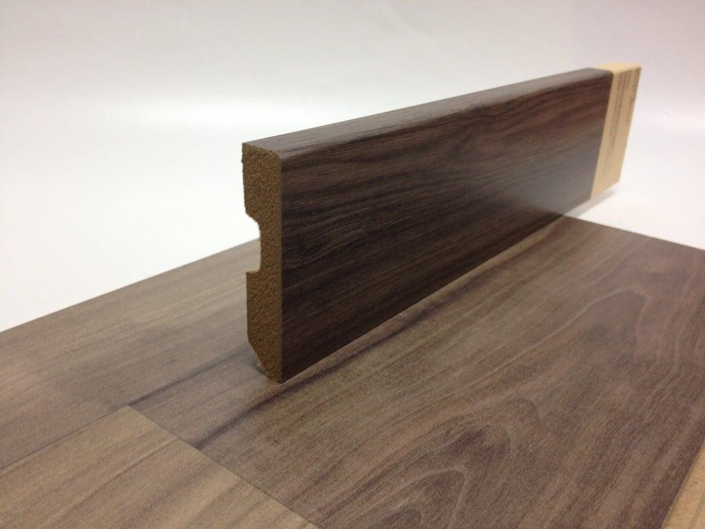 Skirting for wooden and laminate floors for Wood skirting