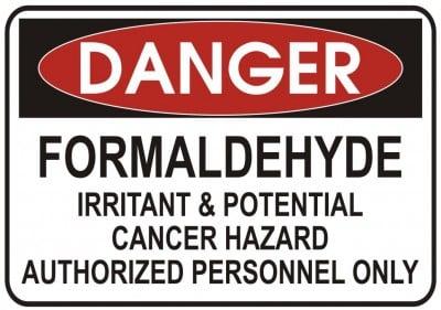Formaldehyde Dangerous