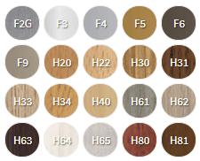 Laminate wood floor accessories colors