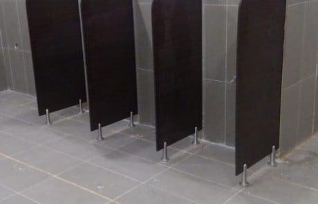 Bathroom cubicles, Public Toilets